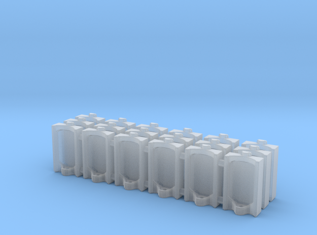 Urinal 02.HO Scale (1:87) in Smooth Fine Detail Plastic