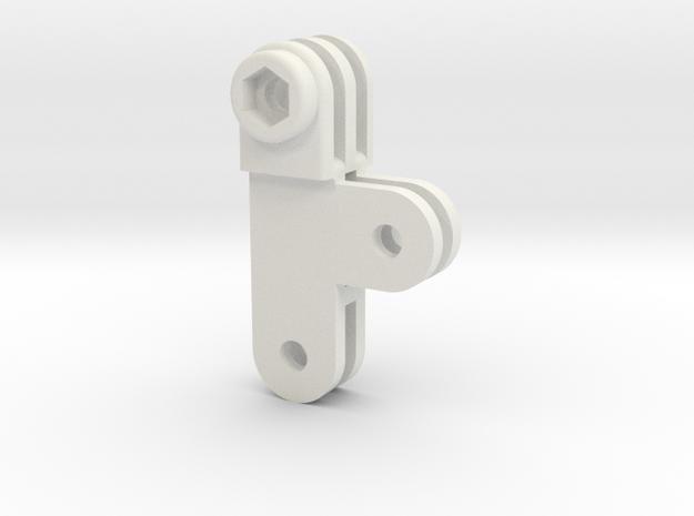 GoPro T(hreesome) FMM standard in White Natural Versatile Plastic
