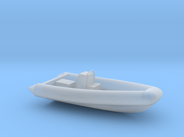 RHIB, no outboard engine (1:200)