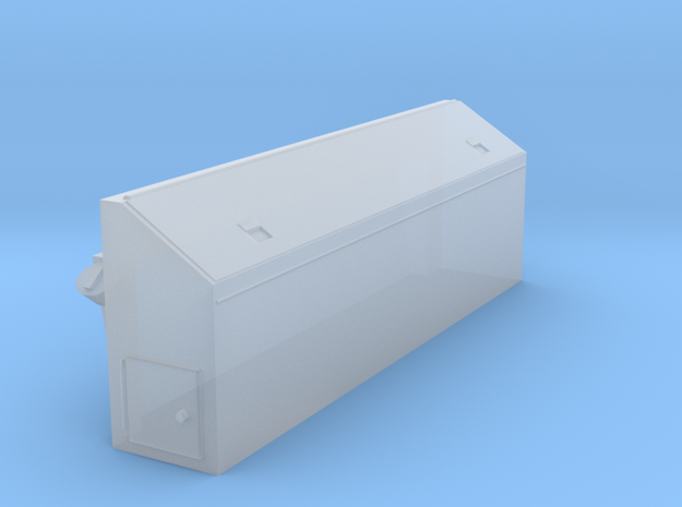 Fire/tool box for D6K fire dozers in Smooth Fine Detail Plastic