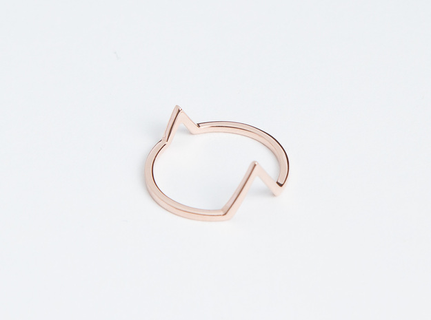 Ring - Wondr in 14k Rose Gold Plated Brass: 6 / 51.5