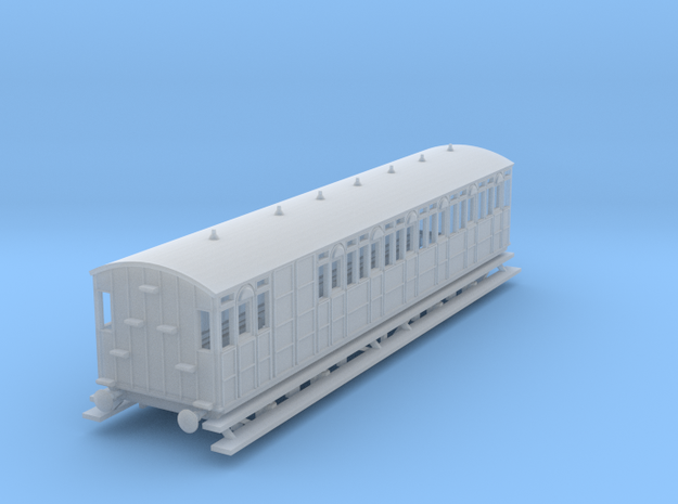o-148fs-metropolitan-8w-long-brake-coach in Smooth Fine Detail Plastic