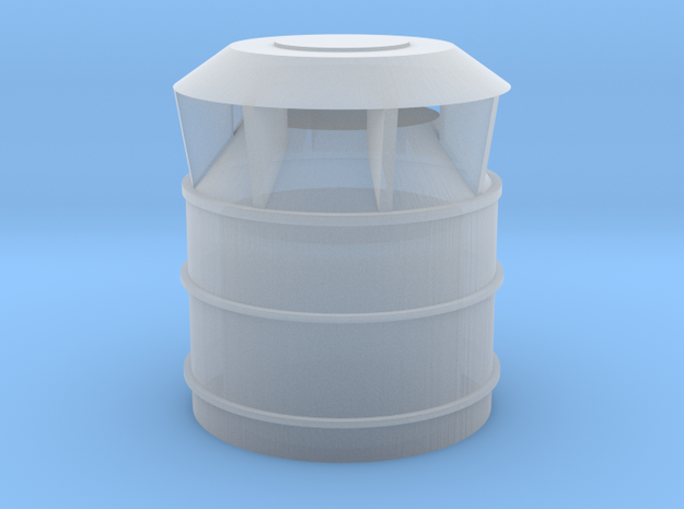 US Vent 24inch bucket 1-72scale in Smoothest Fine Detail Plastic