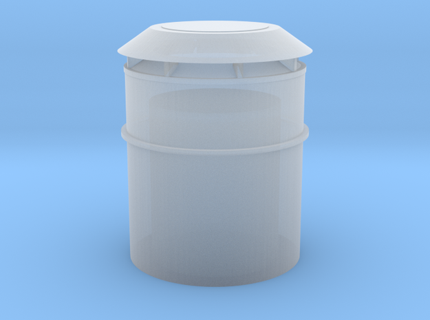 US Vent 18inch bucket 1-72scale in Smoothest Fine Detail Plastic
