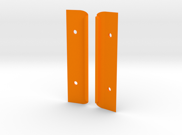 Felucca Kornati 606, H1, 100mm PG354A in Orange Processed Versatile Plastic