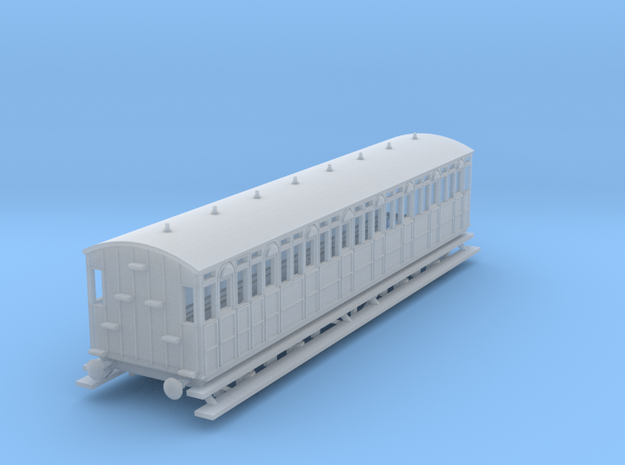 o-160fs-metropolitan-8w-short-brake-coach in Smooth Fine Detail Plastic