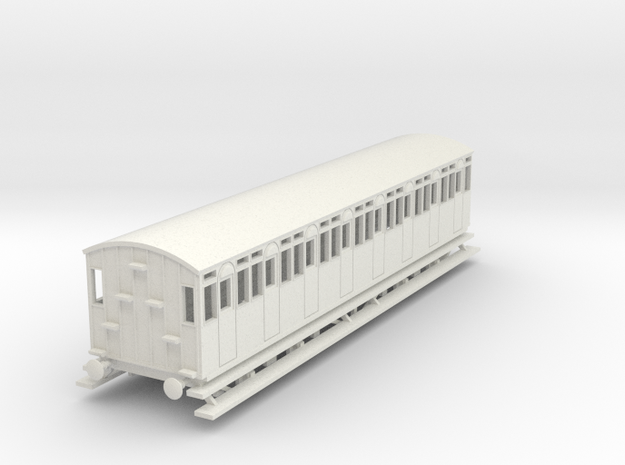 o-87-fr-metropolitan-8w-short-brake-coach-late in White Natural Versatile Plastic
