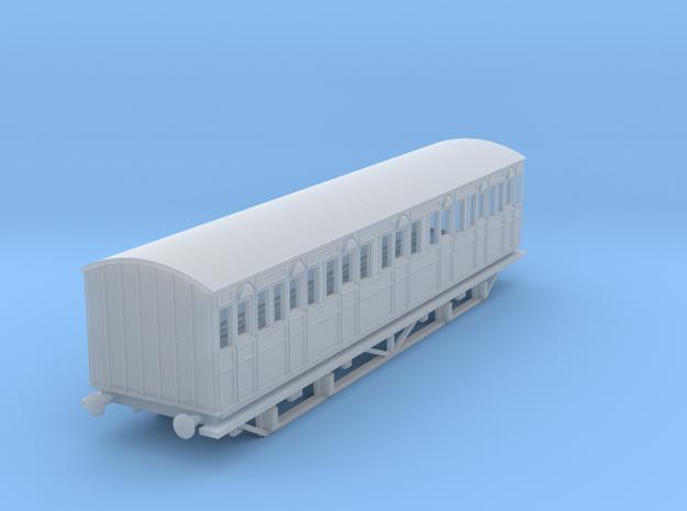 o-148fs-metropolitan-8w-composite-coach-mod in Smooth Fine Detail Plastic