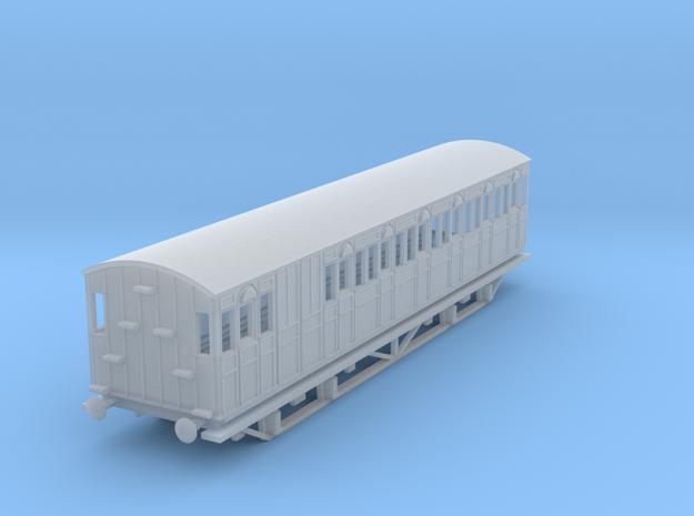 o-148fs-metropolitan-8w-long-brake-coach-mod in Smooth Fine Detail Plastic