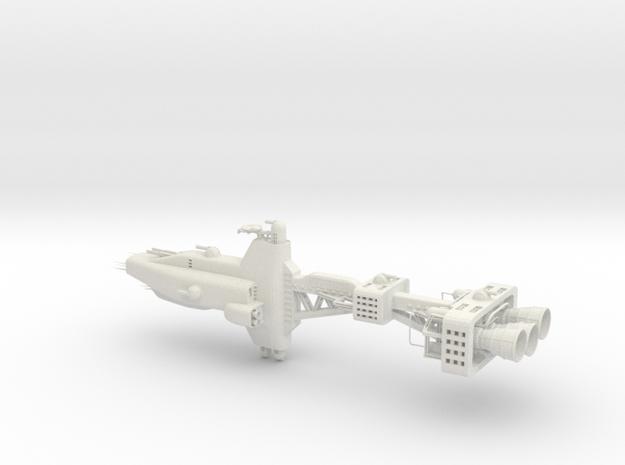 Earth Alliance - Alpha Destroyer in White Natural Versatile Plastic