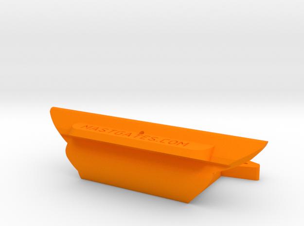 "Feed slot MastGate for 27/8"" slot (Dwyer mast DM5 in Orange Processed Versatile Plastic"