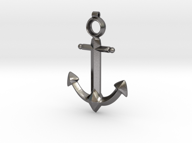 Anchor Pendant - Jaina - World of Warcraft in Polished Nickel Steel