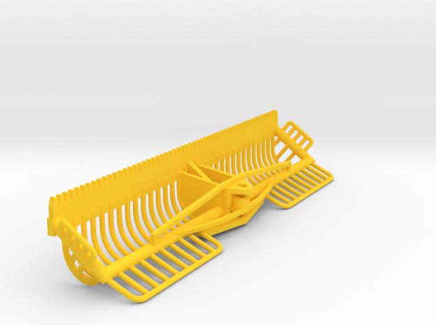 1:50 maaikorf 3 meter breed in Yellow Processed Versatile Plastic