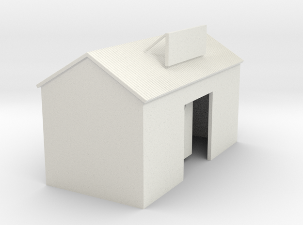'N Scale' - Cement Building