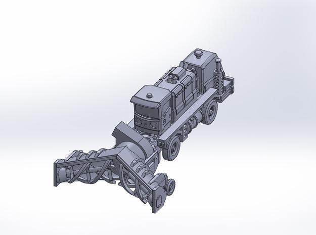 OK H gen3 XRS blower rev2 in Smoothest Fine Detail Plastic: 1:200