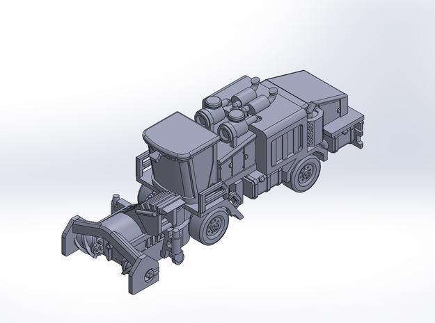 Snow Wolf SB1050 blower rev2 in Smoothest Fine Detail Plastic: 1:400