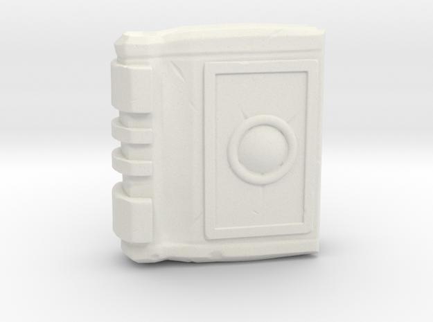Miniature Spell Book - Board game  in White Natural Versatile Plastic: Small
