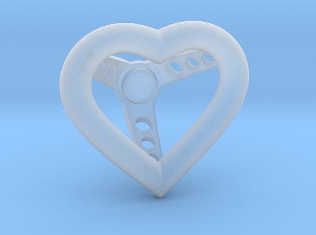 1:25 Heart Steering Wheel Hole Support