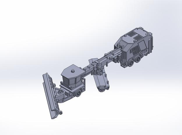 VammasPSB5500 snow plow rev2 in Smoothest Fine Detail Plastic: 1:400