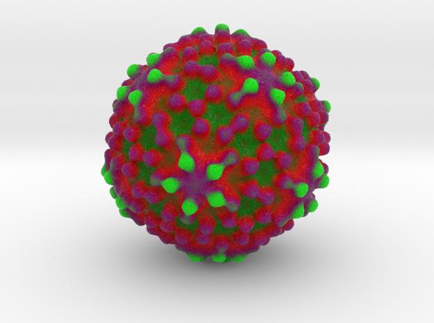Espirito Santo Virus in Natural Full Color Sandstone