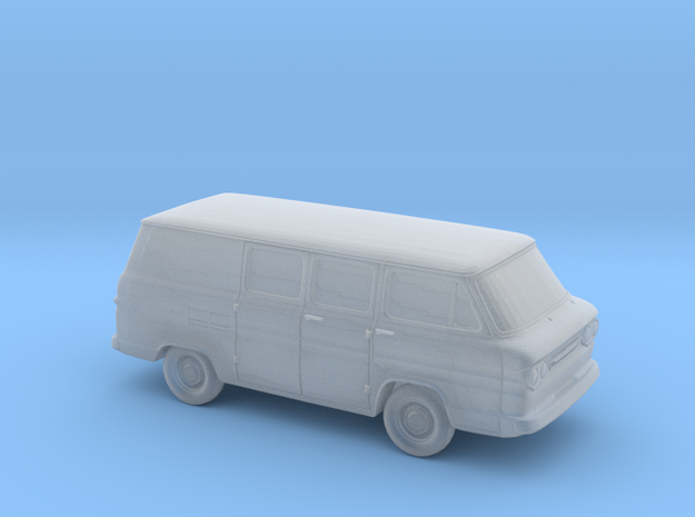 1/87 1961-65 Chevrolet Corvair Greenbrier Delivery in Smooth Fine Detail Plastic