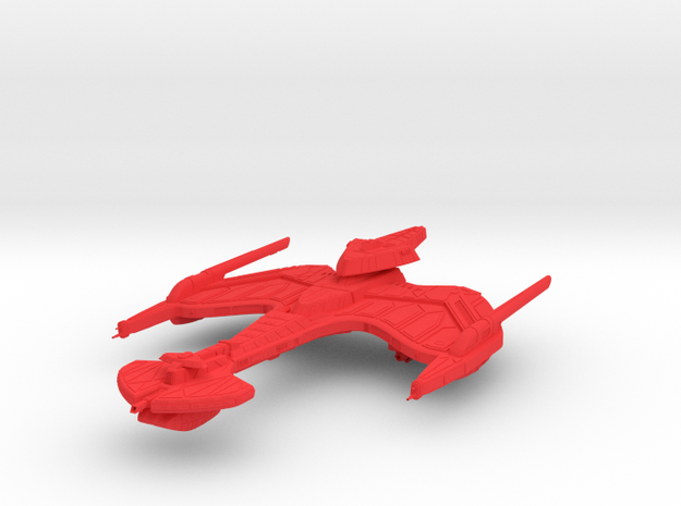 Klingon Empire - Negh'var in Red Processed Versatile Plastic