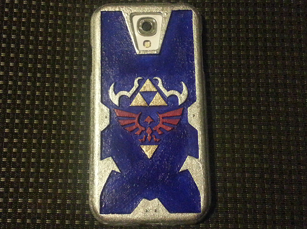 Zelda Case for Galaxy S4 (speaker to front) in White Processed Versatile Plastic