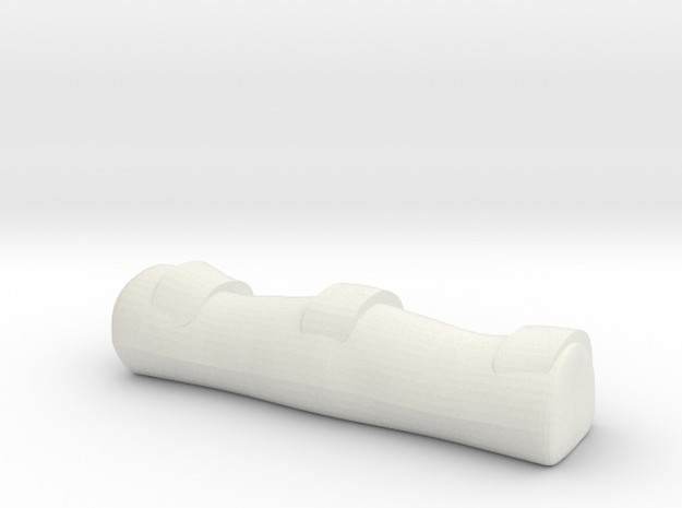 1/64 hose bag in White Natural Versatile Plastic