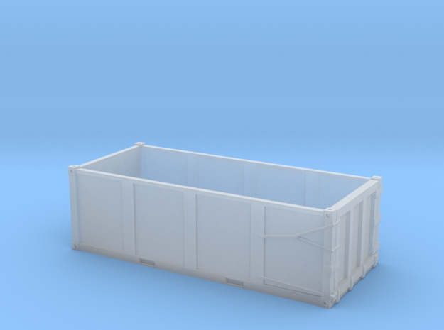HO 1/87 EPIC Trash container 3-rib with forklift s