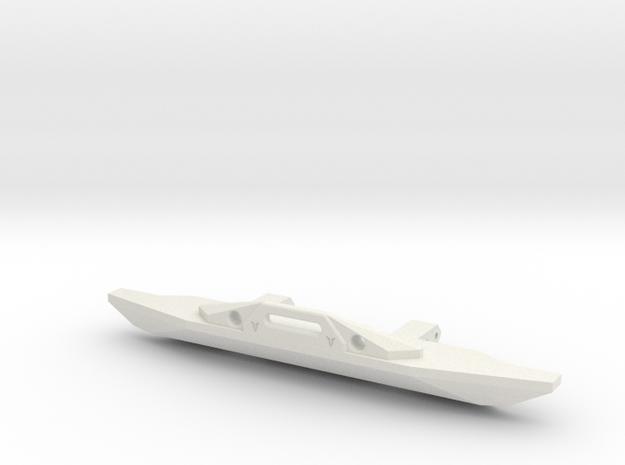VS4-10 VS410 Front Bumper With Fairlead Vanquish V in White Natural Versatile Plastic