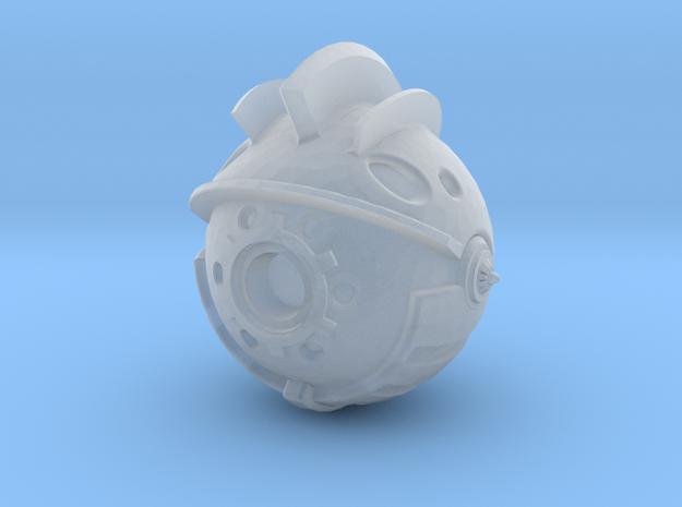 Yattaran Head - 1:6 Scale  in Smooth Fine Detail Plastic