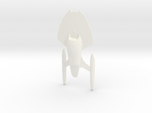 Federation of Planets - Nova in White Processed Versatile Plastic