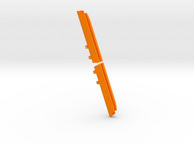 "7  3/8"" slot: J92-Internal MastGate v.5 in Orange Processed Versatile Plastic"