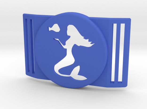 Freestyle Libre Shield - Libre Guard MERMAID in Blue Processed Versatile Plastic