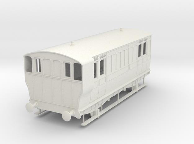o-32-ger-mslr-4w-brake-coach-no1-1 in White Natural Versatile Plastic