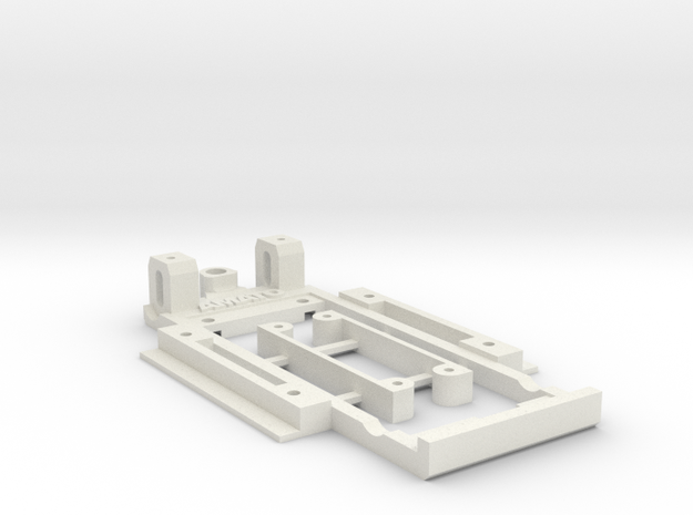 Chassis for George Turner Hilman Imp (with arches) in White Natural Versatile Plastic