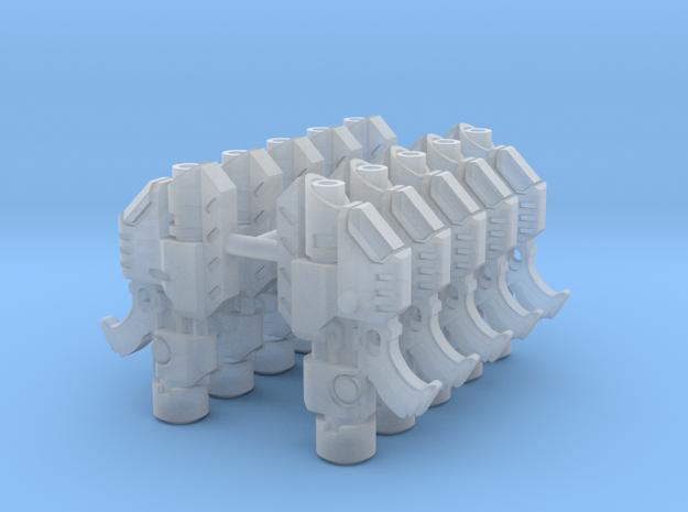 Van Saar Laspistols x10 in Smooth Fine Detail Plastic