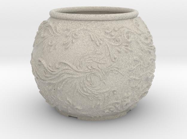 Phoenix planter in Natural Sandstone: Medium