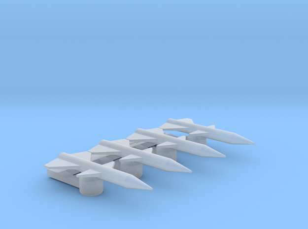Omni Scale General Tachyon Missiles in Smooth Fine Detail Plastic