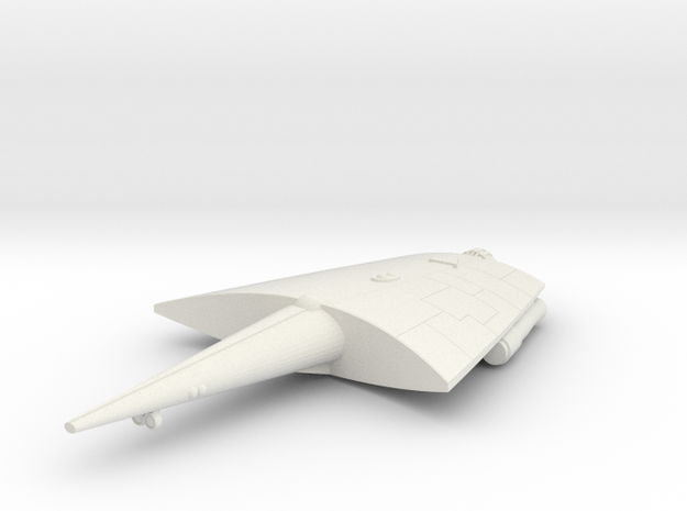 3788 Scale Hiver Heavy Cruiser (CA) MGL in White Natural Versatile Plastic