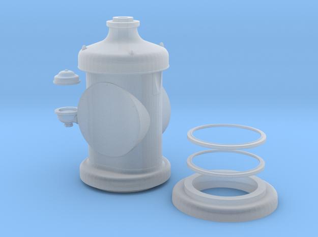 Tokheim clock face gasoline pump in Smoothest Fine Detail Plastic
