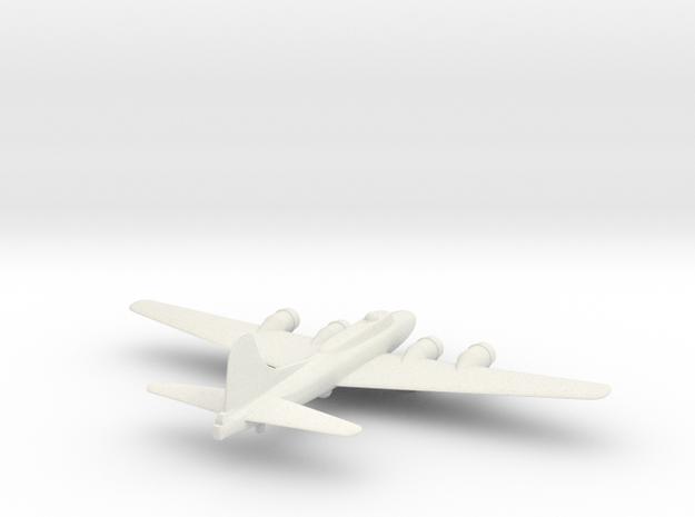 B-17E in White Natural Versatile Plastic