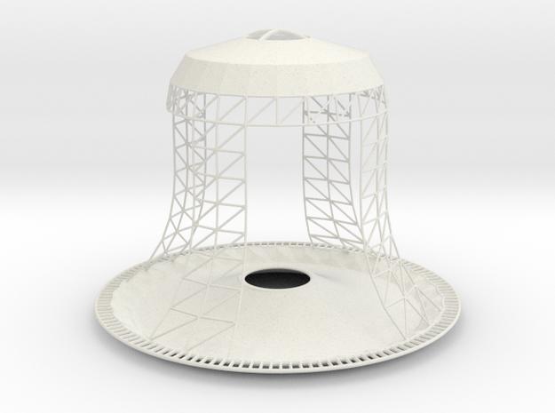 Bell Birdfeeder in White Natural Versatile Plastic