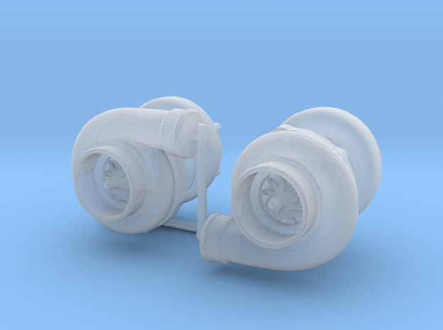 1/24 large turbos in Smooth Fine Detail Plastic