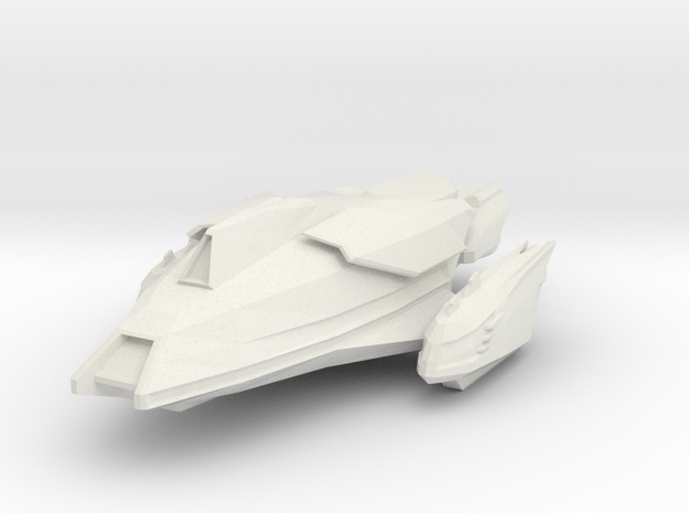 Gorn Tuatara Class in White Natural Versatile Plastic