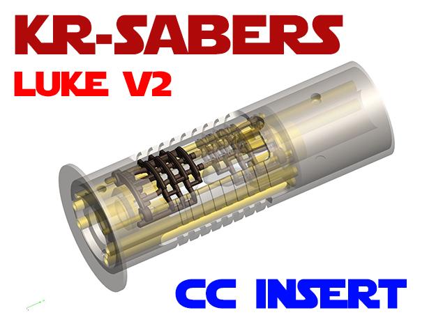 KR Luke V2 - CC Add-on - Insert in Natural Brass