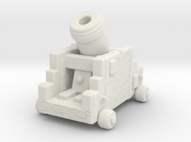 Mortar in White Natural Versatile Plastic
