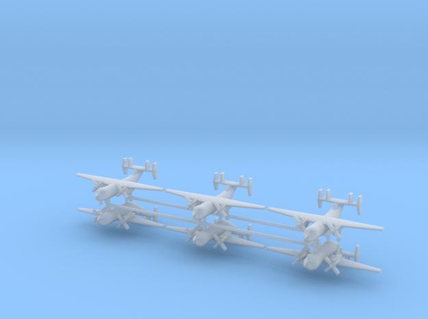 1/400 C-2A Greyhound (x6) in Smooth Fine Detail Plastic