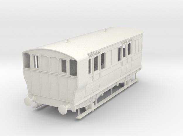 o-32-ger-wisbech-4w-brake-coach-no16-1 in White Natural Versatile Plastic