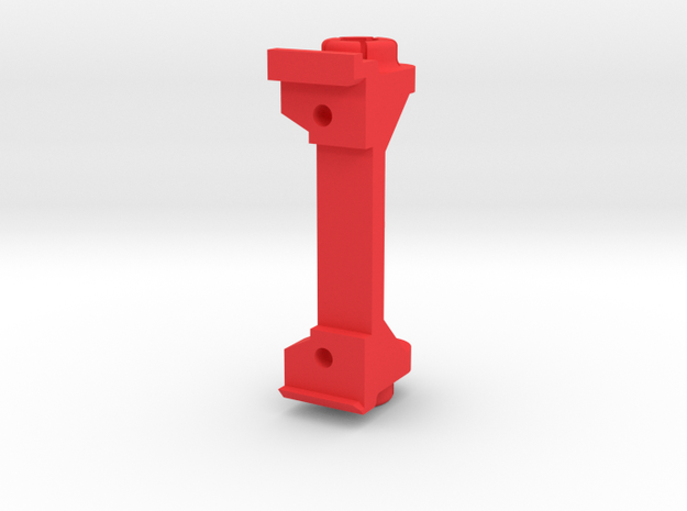 PSSW00201 adapter for Sideways motor mount in Red Processed Versatile Plastic